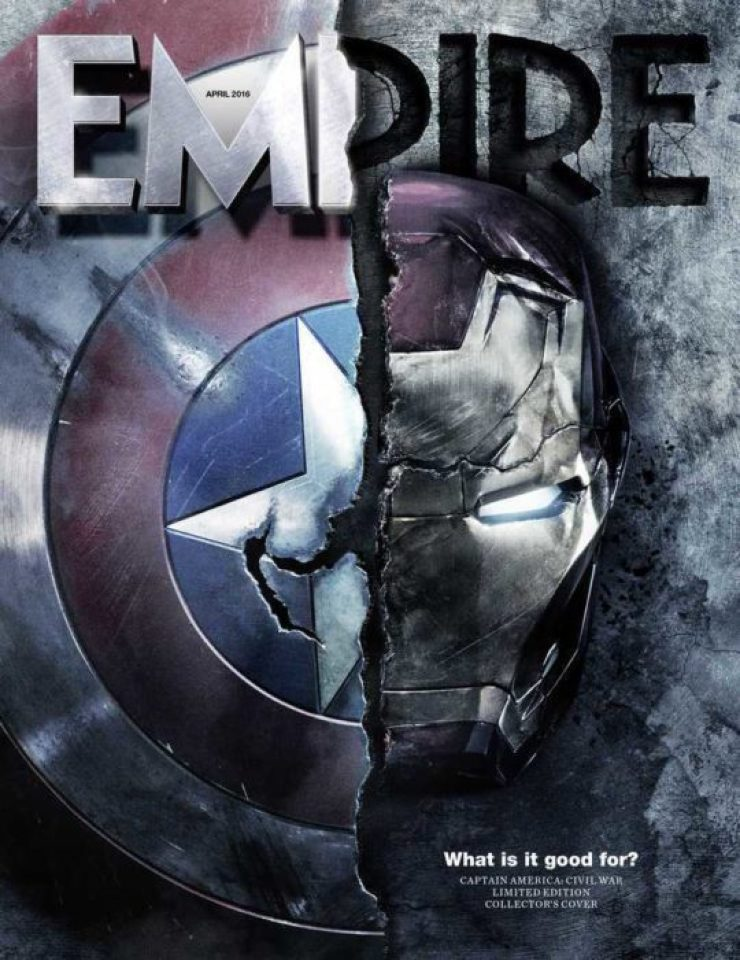 Captain America: Civil War (Cover Empire Magazine)