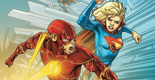 flash supergirl crossover