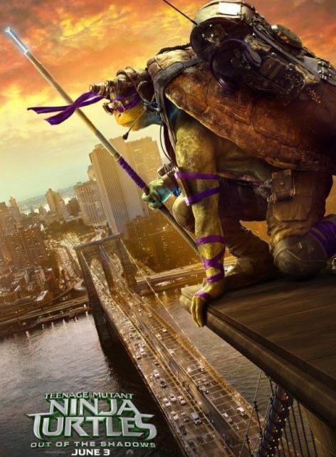 Tartarughe Ninja - Fuori dall'Ombra (Donatello)