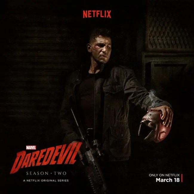 Daredevil (poster Punisher)
