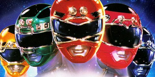 power-rangers art