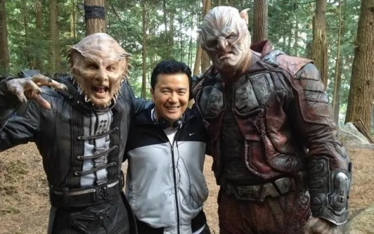 Star Trek Beyond (dal set)