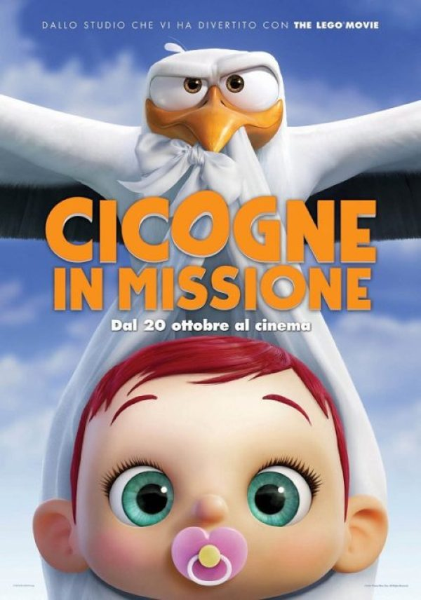 cicogne in missione poster