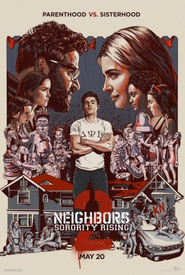 cattivi vicini 2 poster