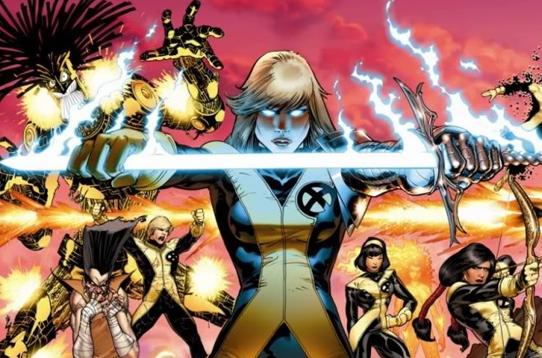 new mutants foto fumetto