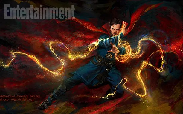doctor strange artwork ew