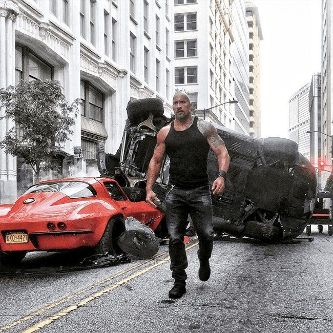 Dwayne Johnson (Fast & Furious 8)