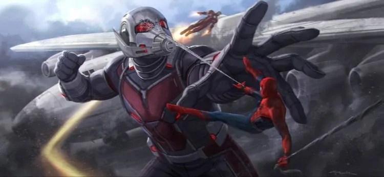 giant-man vs spider-man
