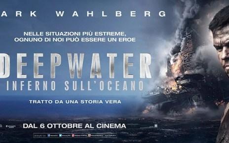 Fiamme ed eroismo nel primo drammatico trailer italiano di Deepwater - Inferno sull'Oceano