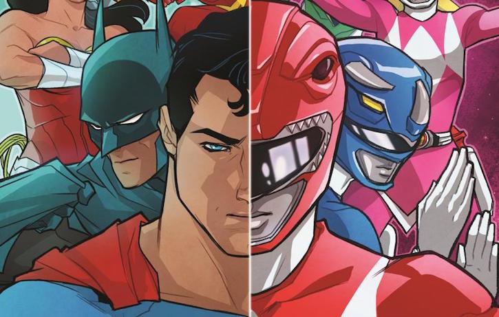 Power Rangers e Justice League saranno insieme nel super crossover fumettistico