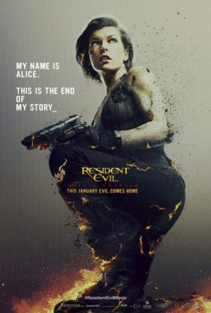 Resident Evil: The Final Chapter (Screen Gems)