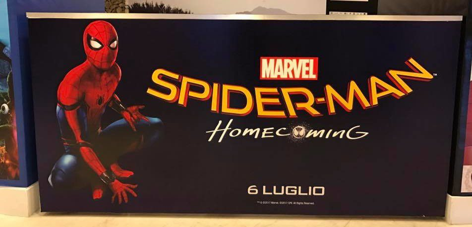 spider-man homecoming riccione