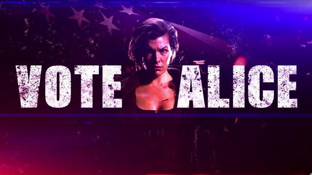 Vote Alice - Resident Evil