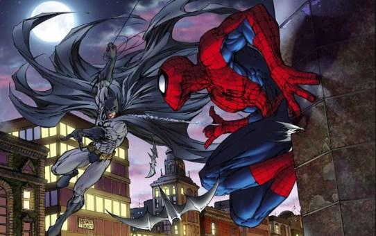batman vs spider-man