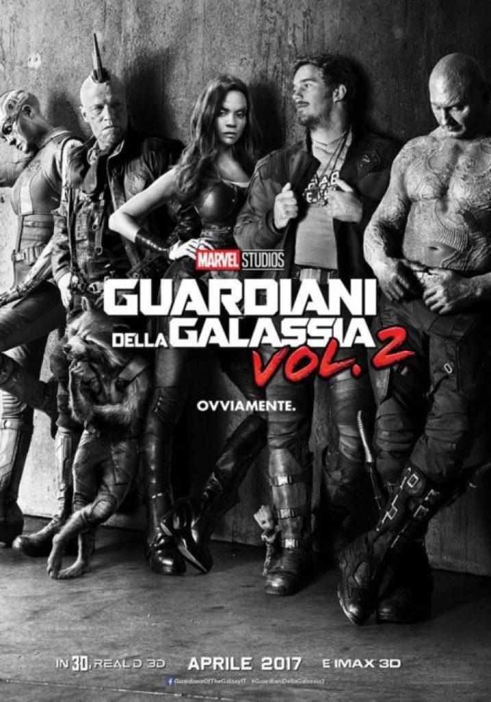 guardiani della galassia 2 poster italiano