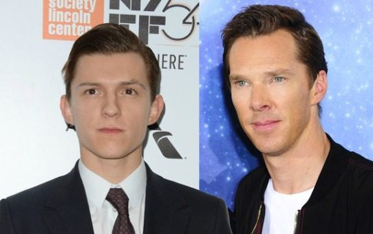 tom holland benedict cumberbatch foto