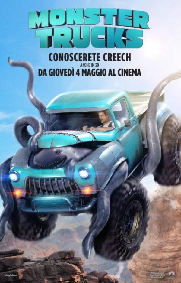 monster trucks poster ita