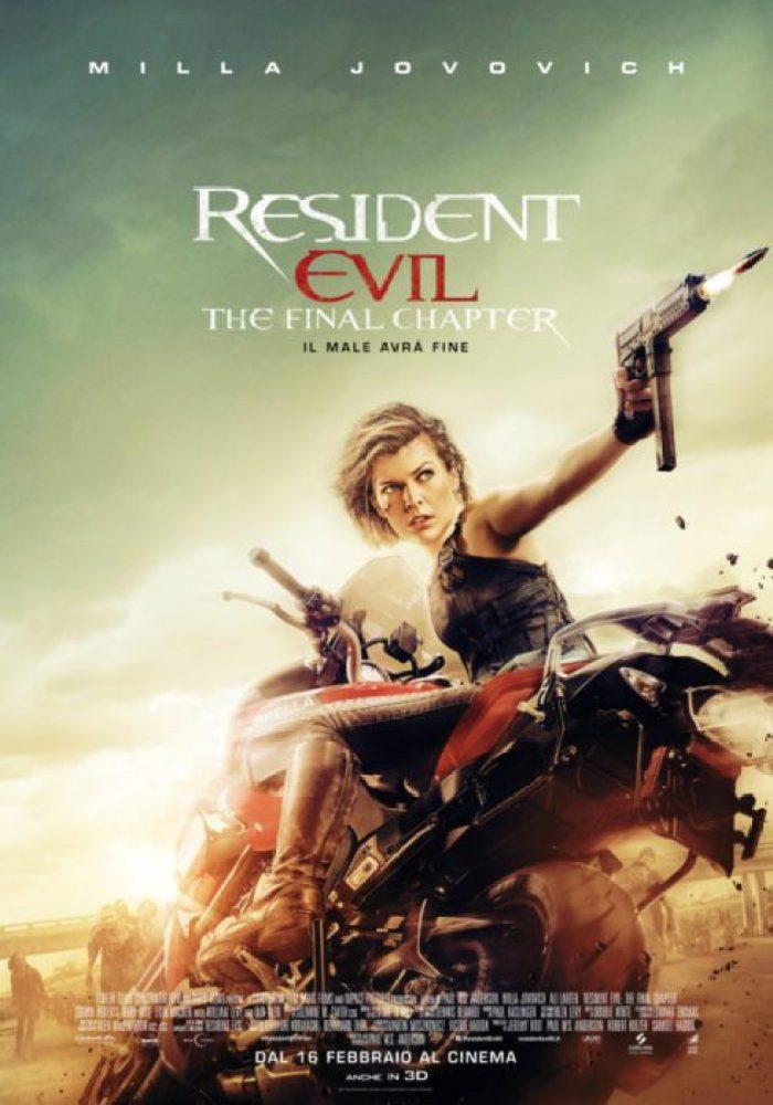 resident evil final chapter ita