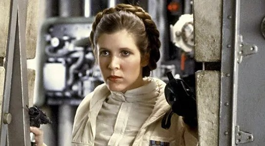 video tributo carrie fisher dallo star wars celebration