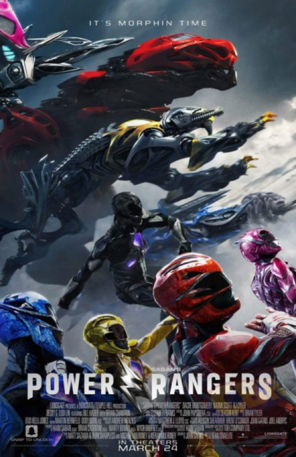 power rangers final poster