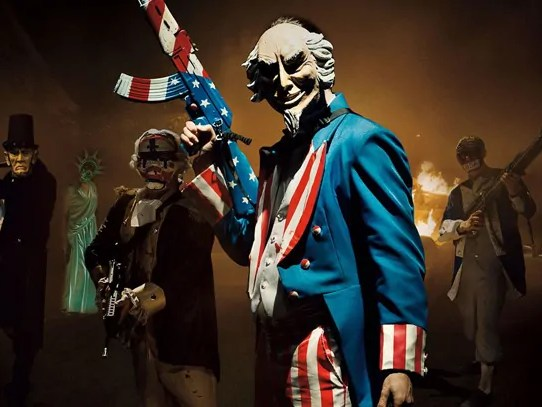 the purge film banner
