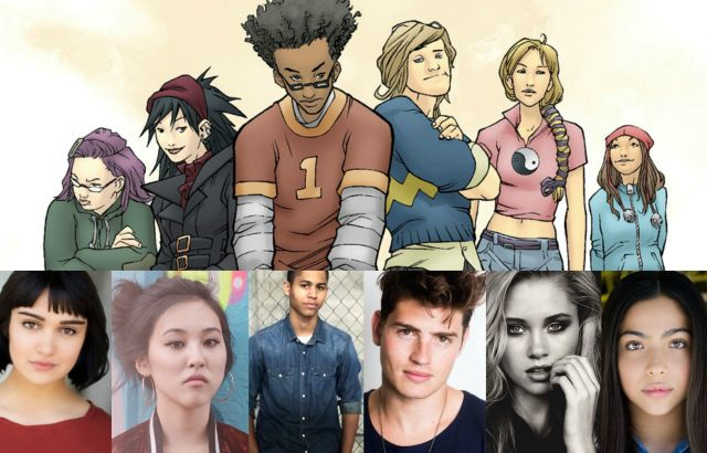 runaways serie tv cast