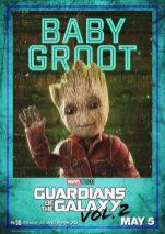 guardiani galassia 2 baby groot
