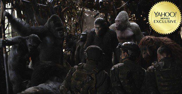 war pianeta scimmie foto per yahoo movies