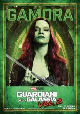 guardiani galassia 2 poster italiano gamora