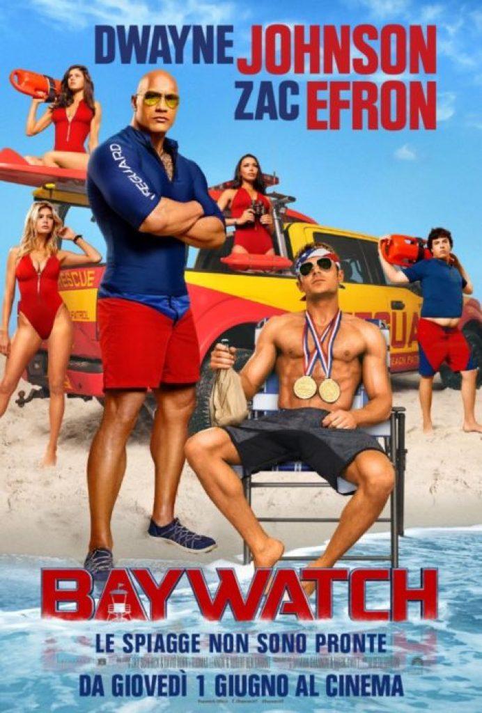nuovi poster italiani per baywatch