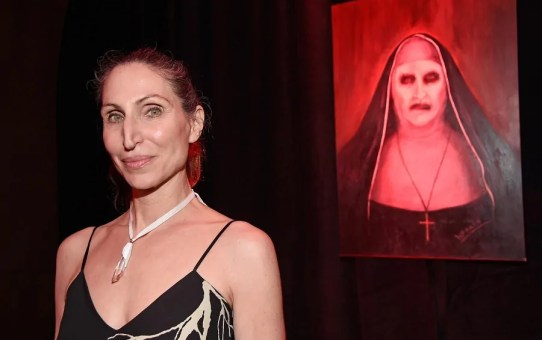 bonnie aarons nel cast dell'horror the nun