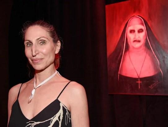 bonnie aarons nel cast dell'horror the nun