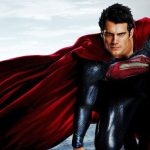 Henry Cavill col costume di Superman per il National Superhero Day
