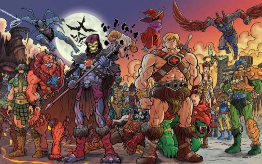 masters of the universe comics