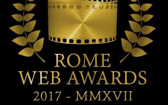 premiazioni dei rome web awards 2017
