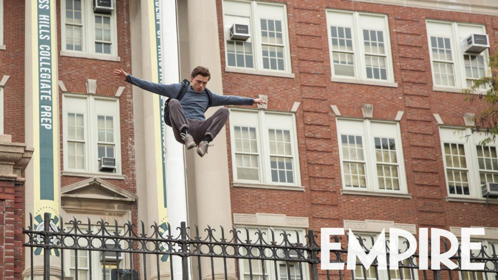spider-man homecoming nuova immagine da empire magazine