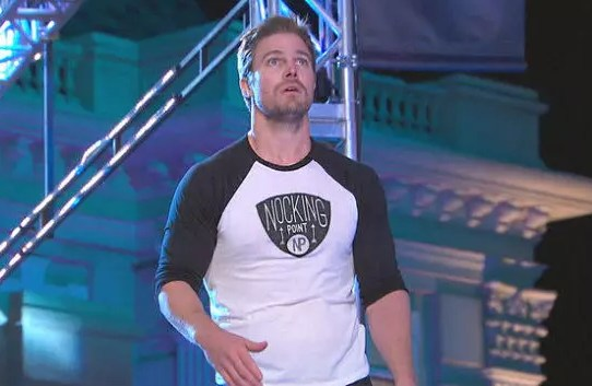 stephen amell all'american ninja warrior