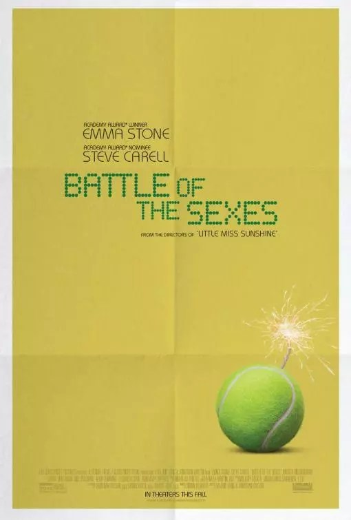 battle of the sexes poster e trailer