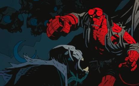 hellboy comic foto