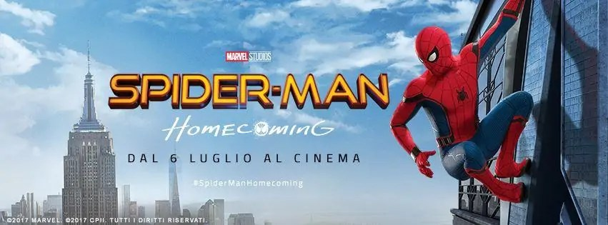spider-man homecoming nuovo trailer italiano