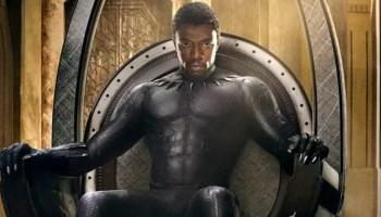 black panther poster slide