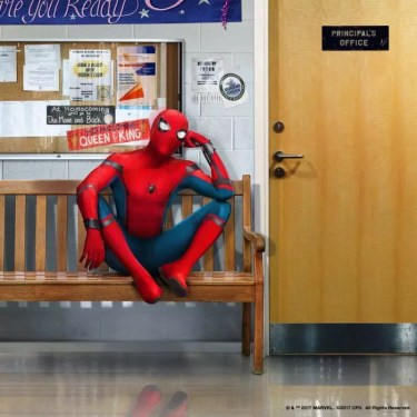 spider-man homecoming artwork