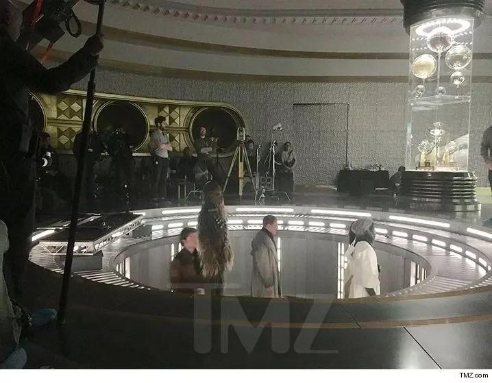 han solo scene set