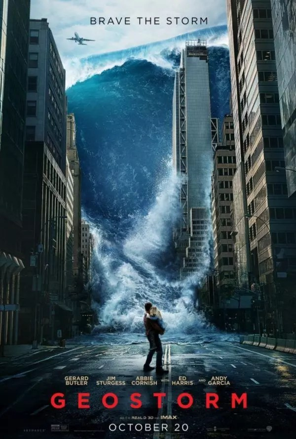 geostorm film poster