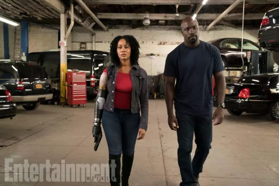 misty knight luke cage ew