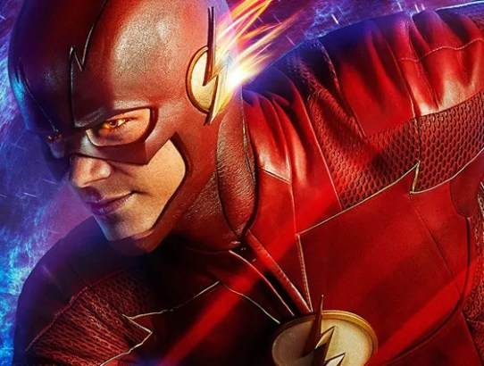 the flash 4 poster slide