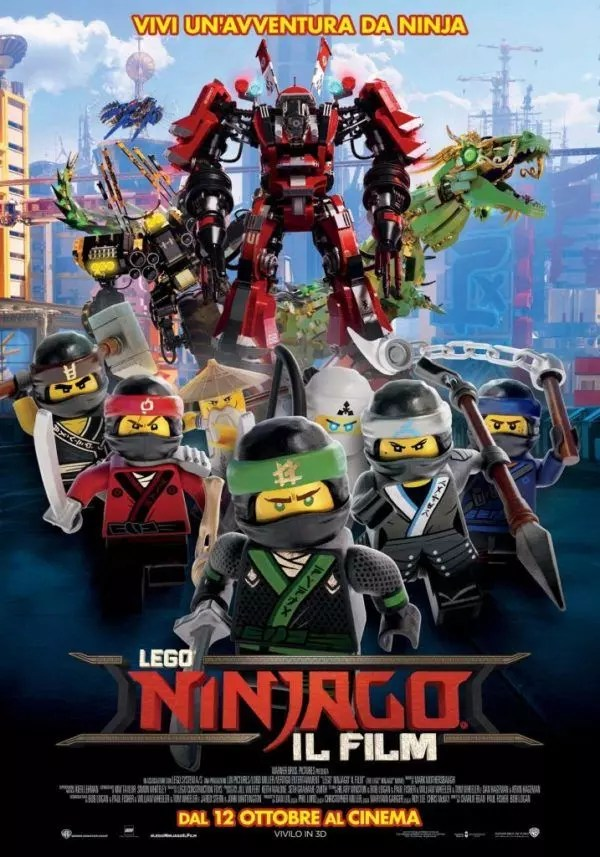 lego ninjago poster ita