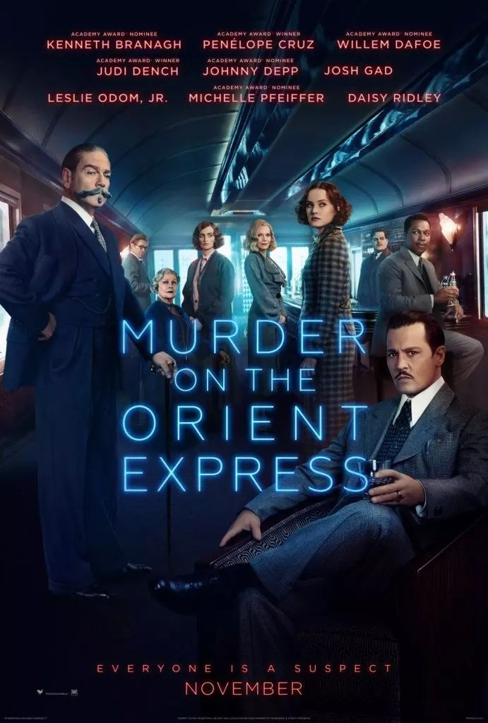 assassinio sull'orient express poster