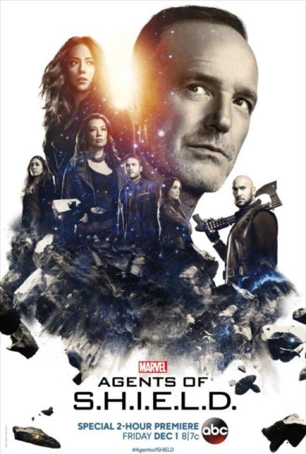 I protagonisti di Agents of SHIELD nel poster della quinta stagione