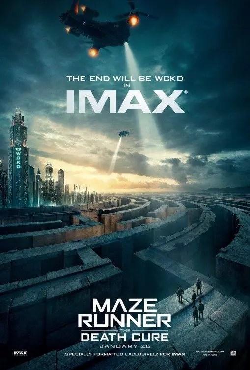 maze runner la rivelazione poster imax